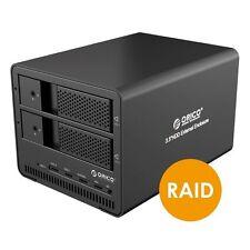 ORICO USB 3.0 Dual 3.5 Inch SATA III HDD Hard Disk Drive External RAID Enclosure