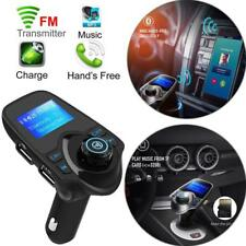 Pantalla LCD Coche Bluetooth FM Transmisor DOBLE CARGADOR USB MP3 REPRODUCTOR