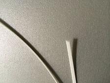 1m Draht Hutdraht  aus Plastik 1x2mm