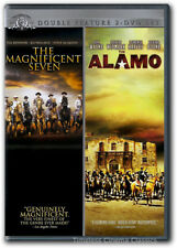 The Magnificent Seven/The Alamo DVD New 2-Disc Set John Wayne, Yul Brynner
