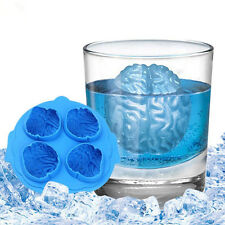 Brain Shape Silicone Ice Cube Tray Freeze Mould Bar Jelly Pudding Chocolate Mold