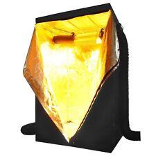 "48x48x78"" 100% Reflective 600D Mylar Hydroponics Indoor Grow Tent Non Toxic Room"