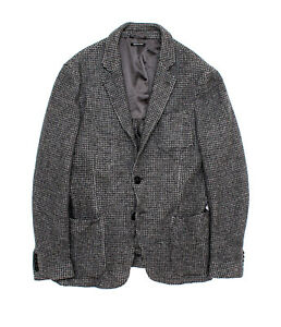 Giorgio Armani Mainline Upton Wool Grey Slim Fit Blazer Jacket - EU 50 52