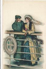 POSTCARD   GLAMOUR  Mates for Life     Clarence F  Underwood
