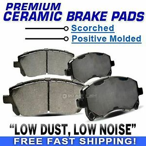 For 2007-2012 Lincoln MKZ PowerSport Front Semi-Metallic Brake Pads
