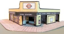 Kingsway, 00 scale, Oval underground station, London, ready made.