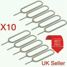10 x SIM CARD EJECT EJECTOR PIN REMOVAL OPEN TOOL KEY APPLE IPHONE IPAD SAMSUNG