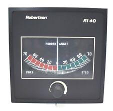 Simrad Robertson RI40 Rudder Angle Indicator marine ship`s navigation instrument