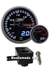 Ford Fiesta st180 60mm Jdm Doble Pantalla Boost Gauge bar y de montaje adaptador