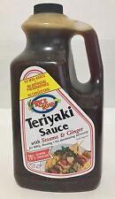 78oz Rice Road Teriyaki Sauce with Sesame & Ginger 70% Less Sodium Than SoySauce