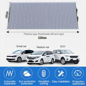 120cm x 46cm Foldable Car Windshield Sun Shade Front Rear Window Anti-UV Cover