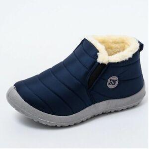 Casual Plush Ultralight Footwear Women Waterproof Slip On Winter Snow Boot Shoes