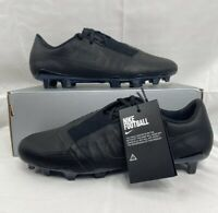 Nike Phantom Venom Elite TC FG Triple Black Mens Sz 11 Soccer Cleats CJ6319-001