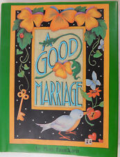 "Mary Engelbreit Illustrated Book 5x7 ""A Good Marriage"""