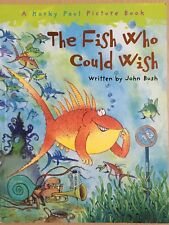 Korky Paul The Fish Who Could Wish by John Bush Paperback Book Childrens 2008