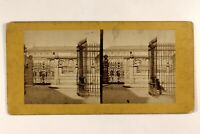 Francia L'Ecole Dei Stampa Da Parigi Foto Stereo Vintage Albumina c1865