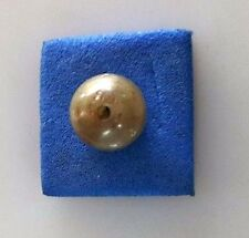 Natural loose diamond Gray color drilled Pearl sahpe 4.37TCW for Necklace