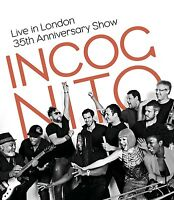 INCOGNITO - LIVE IN LONDON-35TH ANNIVERSARY SHOW  DVD NEUF