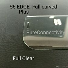 Real Full Clear Tempered Glass Protector for Samsung Galaxy S6 Edge Plus PLUS
