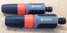 2 Gardena Reinigungsspritzen Garten- Wasserspritzen regulierbar 18300-50