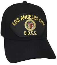 City Of Los Angeles BOSS Hat Color Black Adjustable