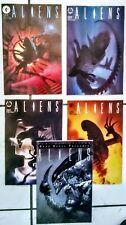 """""""ALIENS """" """"Ultra"""" set"""" NM  1 thru #4  plus """"Aliens""""PLATINUM EDITION !!!!!"""