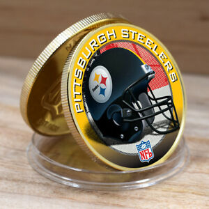 New Birthday Souvenir Gifts PITTSBURGH STEELERS Commemorative Coin Metal Crafts