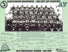 1966 Grey Cup Champion Saskatchewan Roughriders Team Photo  8 X 10 Picture
