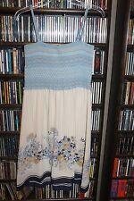 Hinge Smocked Sundress Sun Dress Floral Skirt Ladies sz  M NEW Nordstrom(bin58)