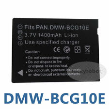 DMW-BCG10E Battery For Panasonic Lumix DMC-TZ6 TZ7 TZ8 TZ10 TZ30 TZ65 TZ66 TZ20