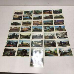 36 Various Atlas Edition Ltd 1998. Encyclopedic Card System Train Cards #121