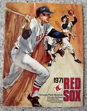 Vintage Collectible May 1971 Red Sox Fenway Park Program VS NY Yankees