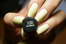 Revlon Colorstay Nail Polish Lacquer in BUTTERCUP #100 ~ Pastel Yellow B2G15%OFF
