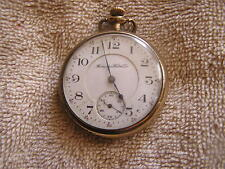 Antique Hampden Pocket Watch 15 Jewels No. 109 Movement