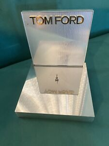 Unique Classic Tom Ford Display Piece LOGO PLAQUE Mirror Display Stand