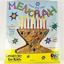 Creativity For Kids Create Your Own Menorah Jewish Holiday Family Fun New Sealed
