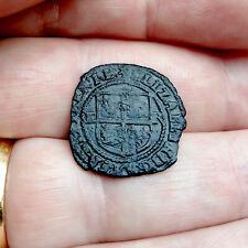 More details for elizabeth i - irish halfpenny 1601 rare