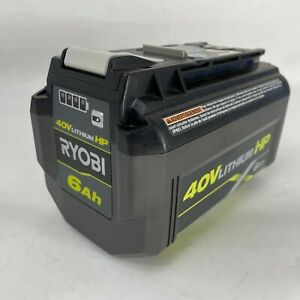 RYOBI OP40602 40 Volts 6.0 Ah Lithium Ion High Capacity Battery