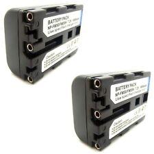 2x Li-ion Battery Pack for Sony Cyber-Shot DSC-F707 DSC-F717 DSC-F828 Brand New
