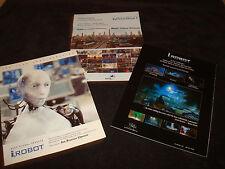 I, ROBOT 3 Oscar ads Will Smith, Sonny the robot, Bridget Moynahan