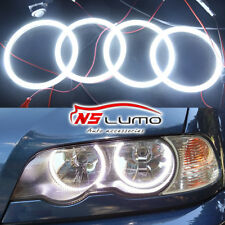 For BMW E46 2D 325ci 330ci Coupe Convertible Led SMD Angel Eyes Halo Light