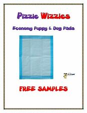 """200ct 23x24"""" Pizzie Wizzies CHEAP Economy Puppy-Piddle-Pee Wee Dog Pads"""
