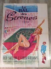 Affiche Cinéma Originale :1960/LE BAL DES SIRENES/120X160