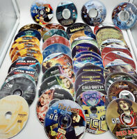PC CD-Rom Games - Discs Only - Lot of 48