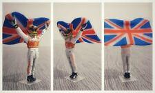 Lewis HAMILTON McLaren Mercedes 2008 figurine pilote diorama 1/43 F1 figure