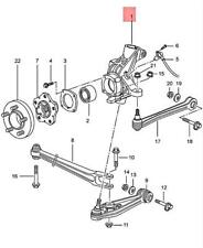 Genuine PORSCHE Boxster 986 Wheel Carrier Left 98633115720