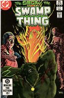 Saga Of The Swamp Thing 9 DC 1983 NM Tom Yeates Phantom Stranger