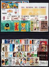 C137547/ MEXICO – YEARS 1986 - 1990 MINT MNH MODERN LOT – CV 110 $