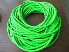"""SURGICAL RUBBER LATEX TUBING FLO GREEN FISH RIG 1/4"""" ID X 1/16"""" WALL SOFT TUBE"""