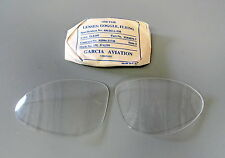 AN-6530/B-7 SHATTERPROOF LENSES NEW IN WRAP- CLEAR